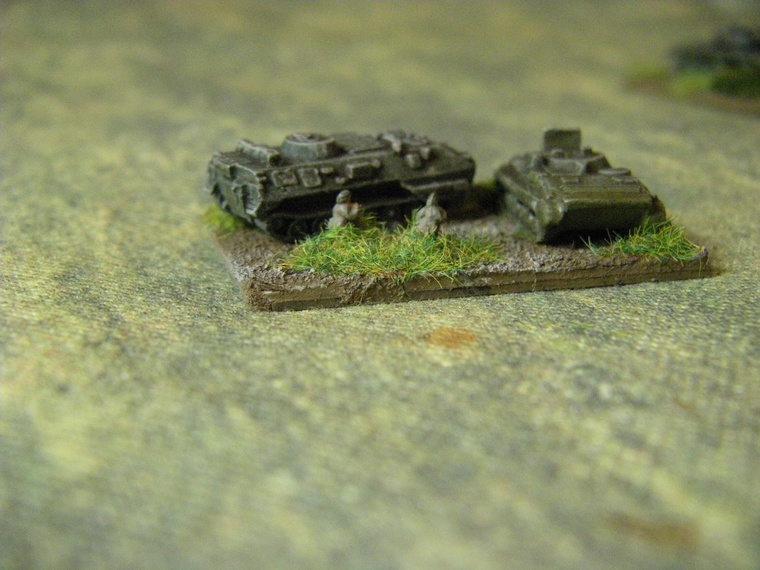 1/300th Scale Modern warpace tanks for CWC