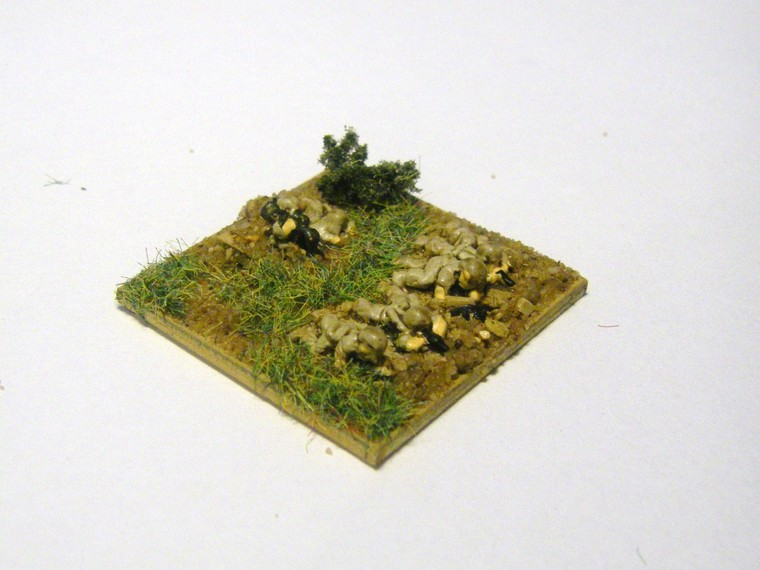 Modern Micro Armour: Mainforce 1/285 Infantry from Magister Militum, 1/300th